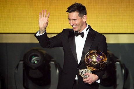 Permalink ke Make statistical Messi wins Ballon d'Or Worth 2015